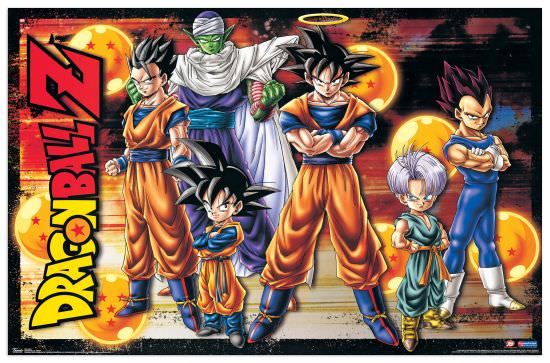 Quadro Decorativo Dragonball Z