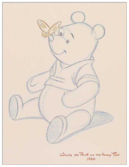Quadro Decorativo Pooh Bear Makes A Friend
