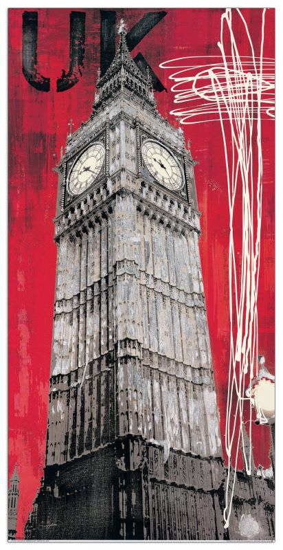 Quadro Decorativo One British Time