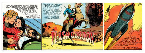 Quadro Decorativo Flash Gordon Adventures