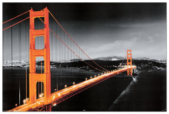 Quadro Decorativo San Francisco Golden Gate