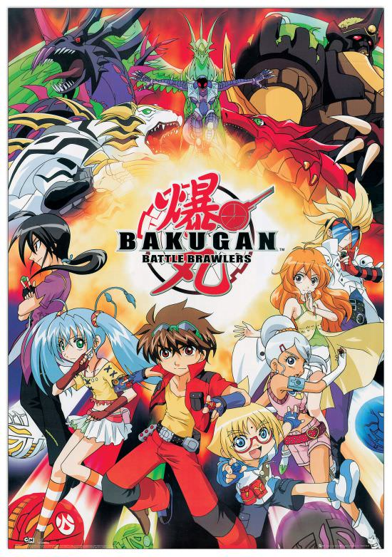 Quadro Decorativo Bakugan