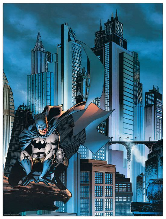 Quadro Decorativo Gotham City 1