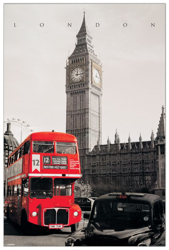 Quadro Decorativo London Westminster