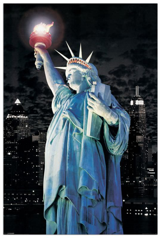 Quadro Decorativo New York Statue Of Liberty