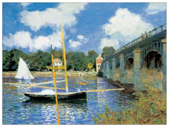 Quadro Decorativo Bridge At Argenteuil