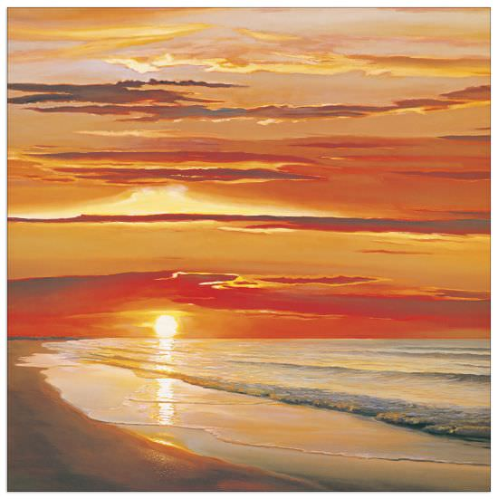 Quadro Decorativo Sunset On The Water