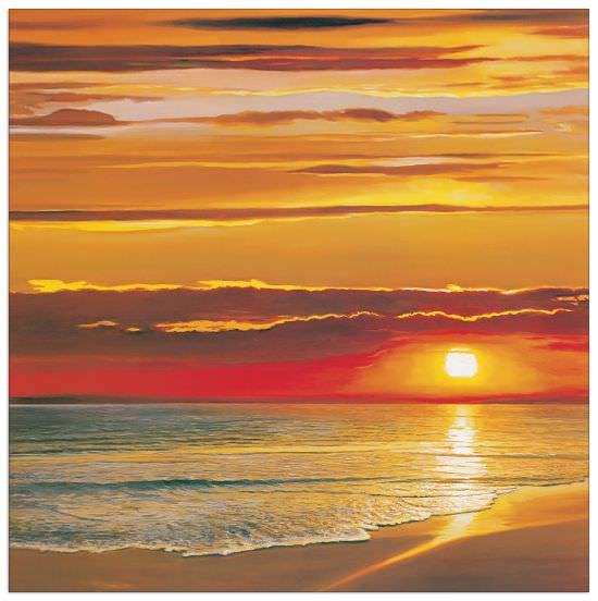 Quadro Decorativo Sunset On The Sea