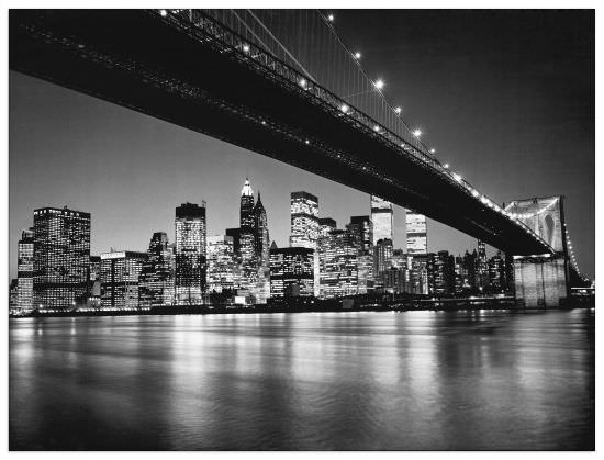 Quadro Decorativo New York New York Skyline Di Manhattan