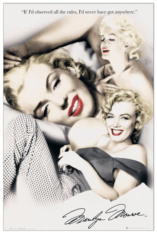Quadro Decorativo If ID Observed All The Rules Marilyn Monroe