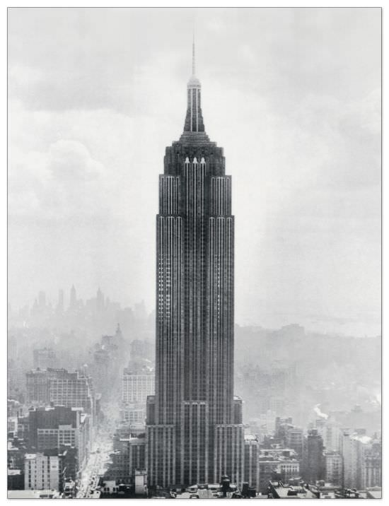 Quadro Decorativo Empire State Building