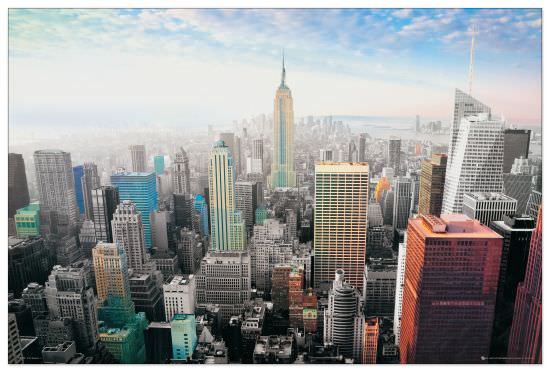 Quadro Decorativo New York Cityscape