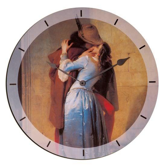 Orologio In Legno The Kiss