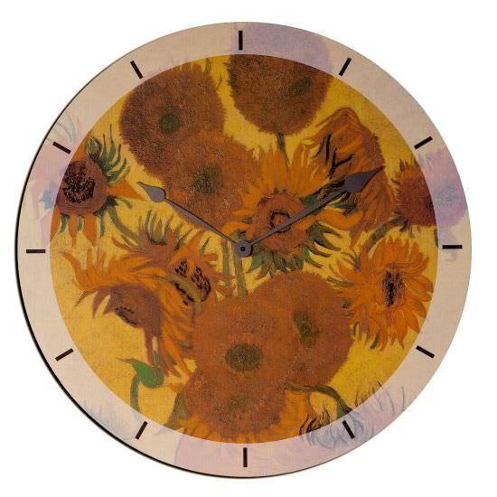 Orologio In Legno SunFiori