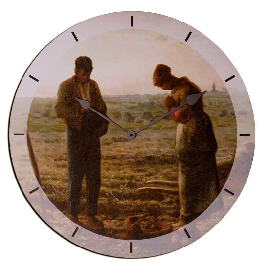 Reloj Angelus de madera