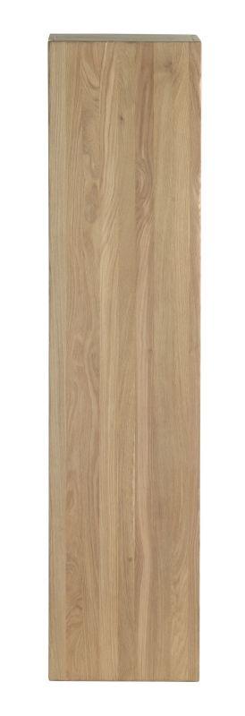 Elément haut avec 1 porte en bois massif