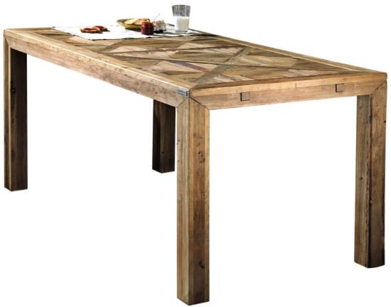 Olmo 140 dining table in old wood