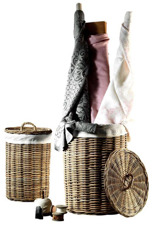 Juego de cestas Peonia 2 cestas redondas