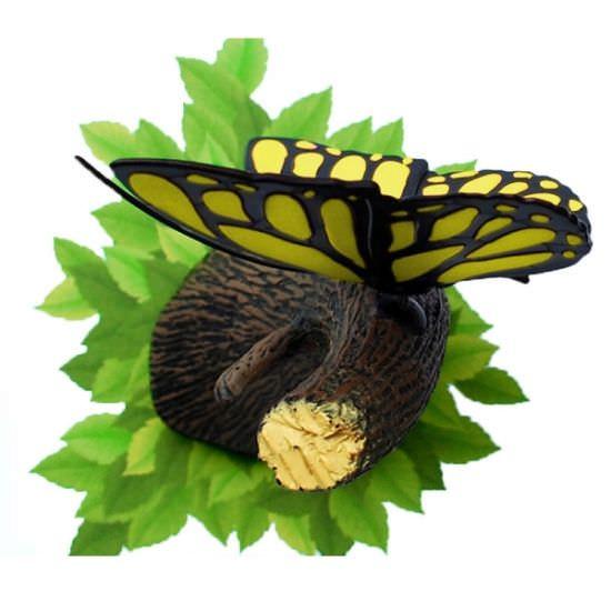 Lampada 3D Farfalla gialla