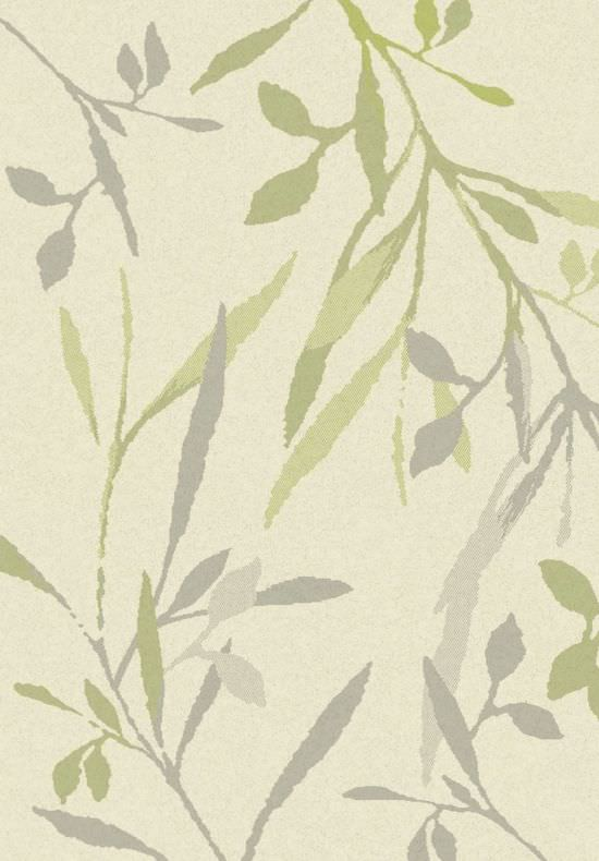 Modern carpet Cream and Leaves 140x200