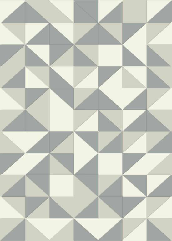 Tappeto Geometrico Tender Grigio 160x230