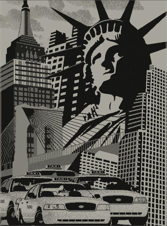 Tappeto Canapa New York 160x230 cm