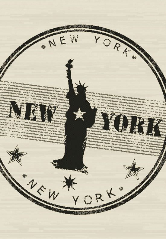 Tappeto Canapa design New York 160x230