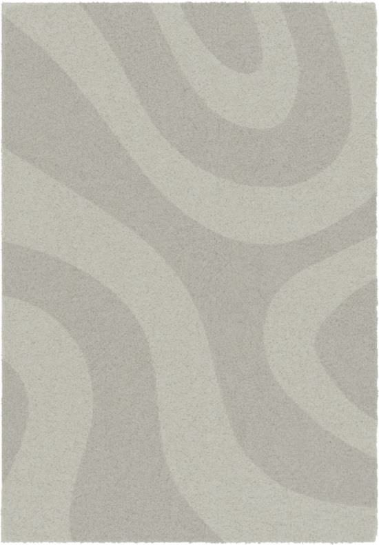 Living room carpet Lumiere Grey 120x170