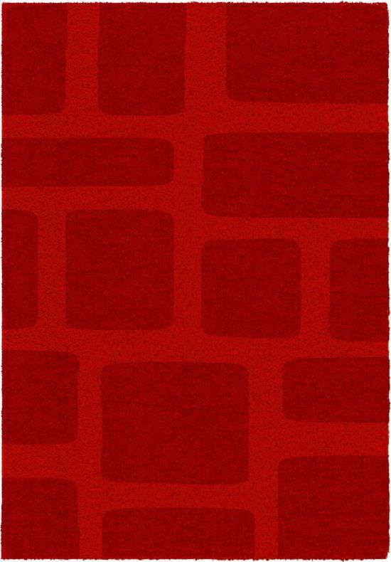 Tappeto salotto Lumiere Rosso 120x170 cm
