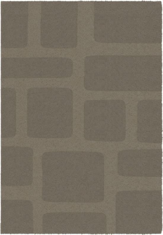 Dark Grey Carpet Lumiere 200x290 cm