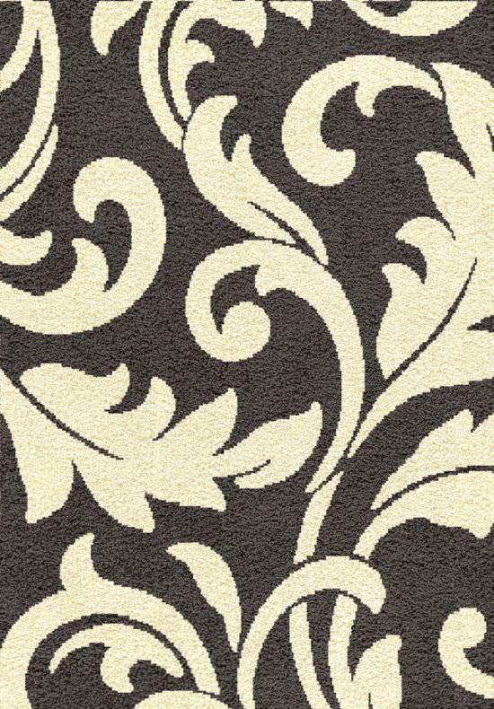 Purple Grey and White carpet 140x200 cm