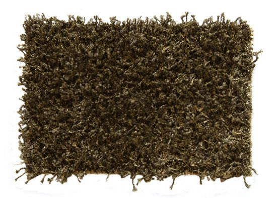 Shaggy carpet Purple 140x200 cm Brown