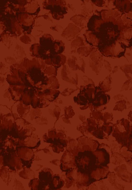 Flower carpet Iris Red 200x290 cm