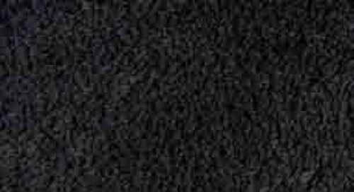 Tappeto tinta unita Agathe Nero 60x120