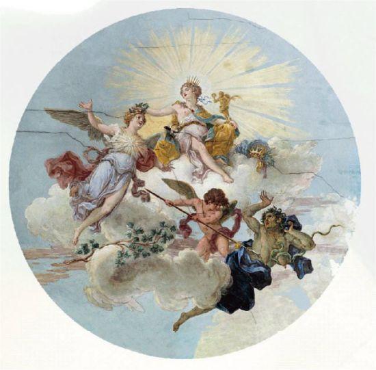 Fresco rosetón
