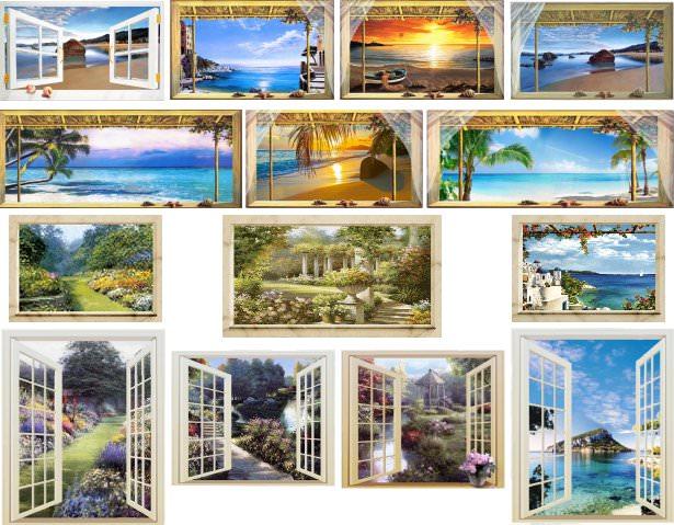 Trompe loeil finestra scoprili online su 100talenti - Trompe l oeil finestra ...