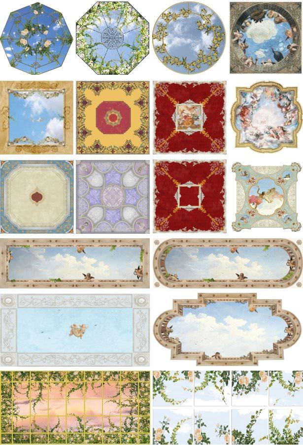 affreschi per soffitto trasferibili scoprili online su mpcshop