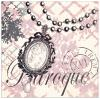 Quadro Decorativo Baroque Bling