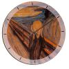 Orologio In Legno The Scream