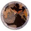 Le Divan Japonais Wooden Clock