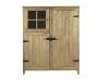Buffet en bois avec 3 portes et 4 étagèr
