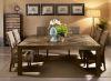 Tisch aus Ulmen Altholz quadratisch