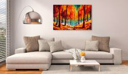 Artgeist Handmade painting Artistic Autumn is a product on offer at the best price