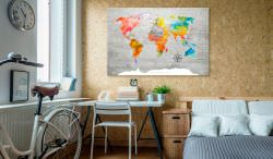 Artgeist Decorative Pinboard Multicolored Trav is a product on offer at the best price