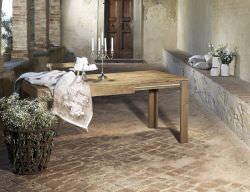 Eucalyptus extendable dining table