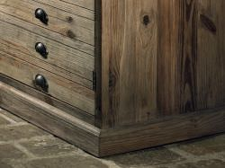 Valeriana chest of drawers in old wood