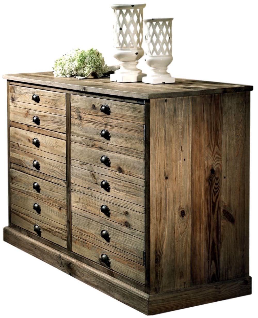 Come Pulire Il Legno Vecchio cassettiera old wood legno vecchio restaurato valeriana